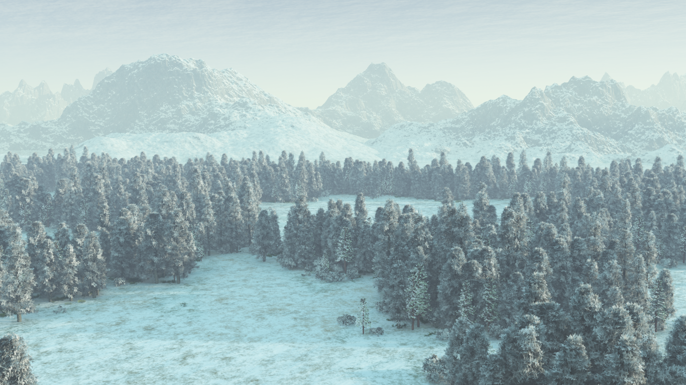Snowy Landscape wallpaper by Vuenick