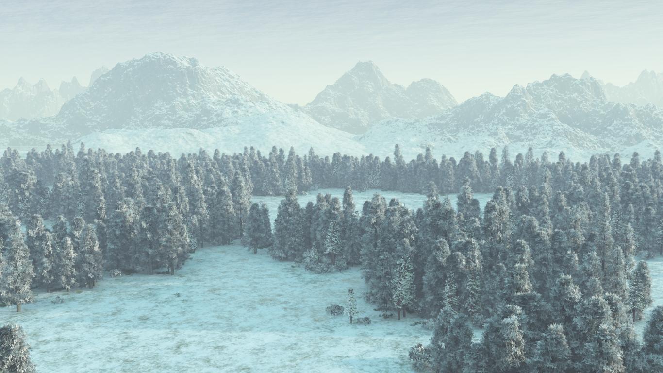 snow landscape backgrounds - photo #23