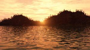 Sunset's End Wallpaper by Vuenick
