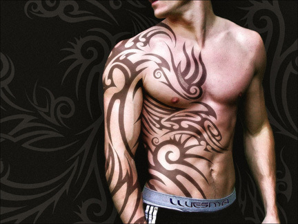 Tribal Tatoo by Landswimmer