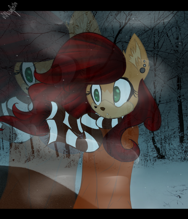 .:Ghost in The Winter:. by oONeonFoxOo