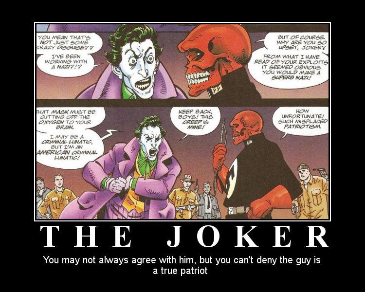 Demotivational Poster The Joker By Blackinkim On Deviantart