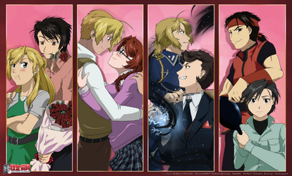 Conspirator Couples 2.0 by Sakura-Araragi
