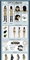 Danielle Russo - Character Sheet by Sakura-Araragi