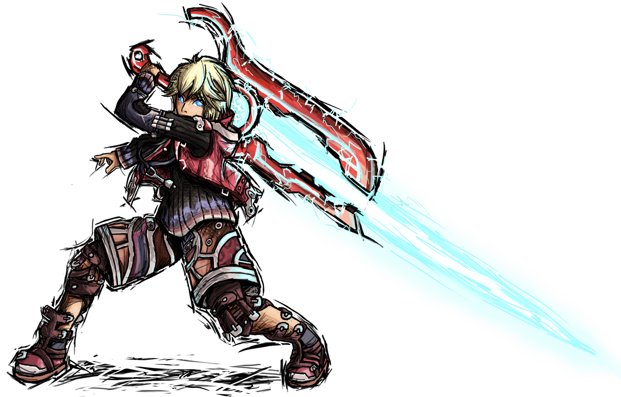 Smash Striker: Shulk by Tails1000 on DeviantArt