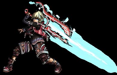 Smash Striker: Shulk by Tails1000