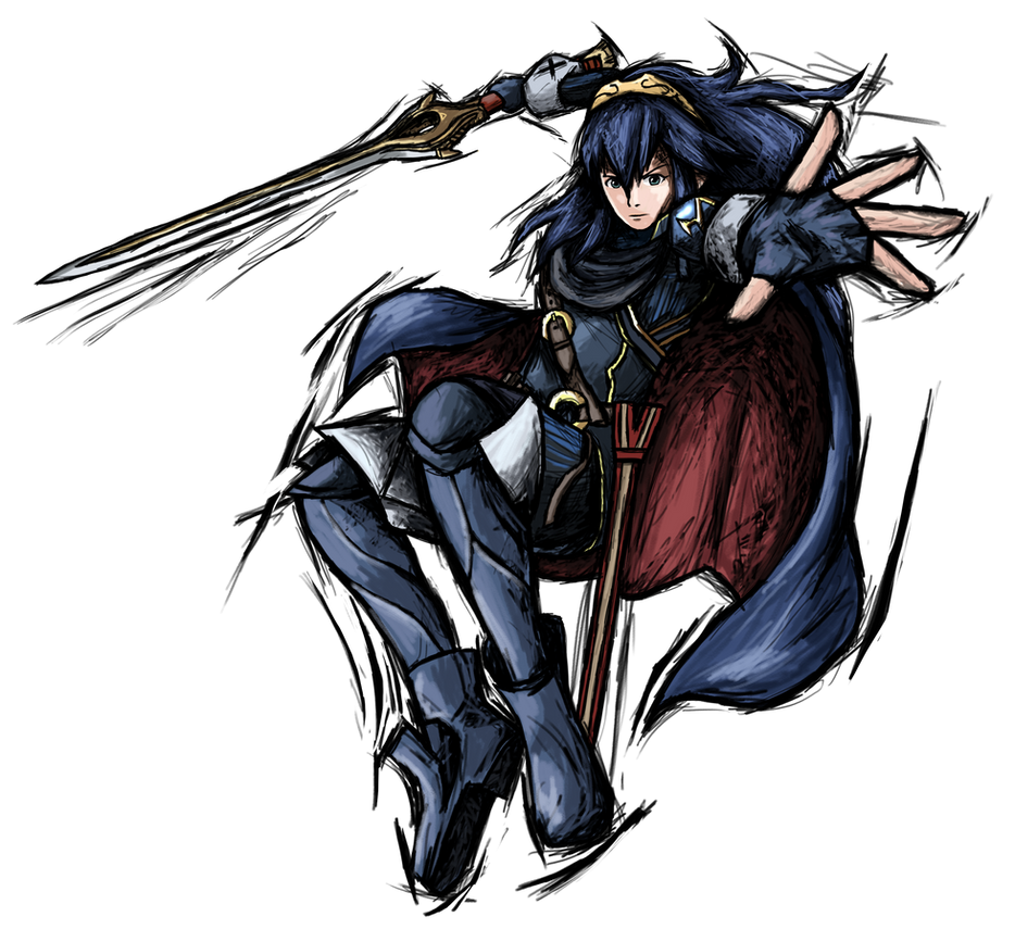 Smash Striker: Lucina by Tails1000 on DeviantArt