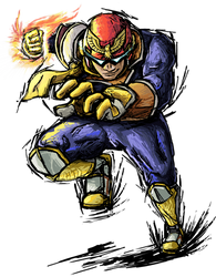 Smash Striker: Captain Falcon by Tails1000