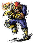 Smash Striker: Captain Falcon