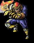 Smash Striker: Captain Falcon