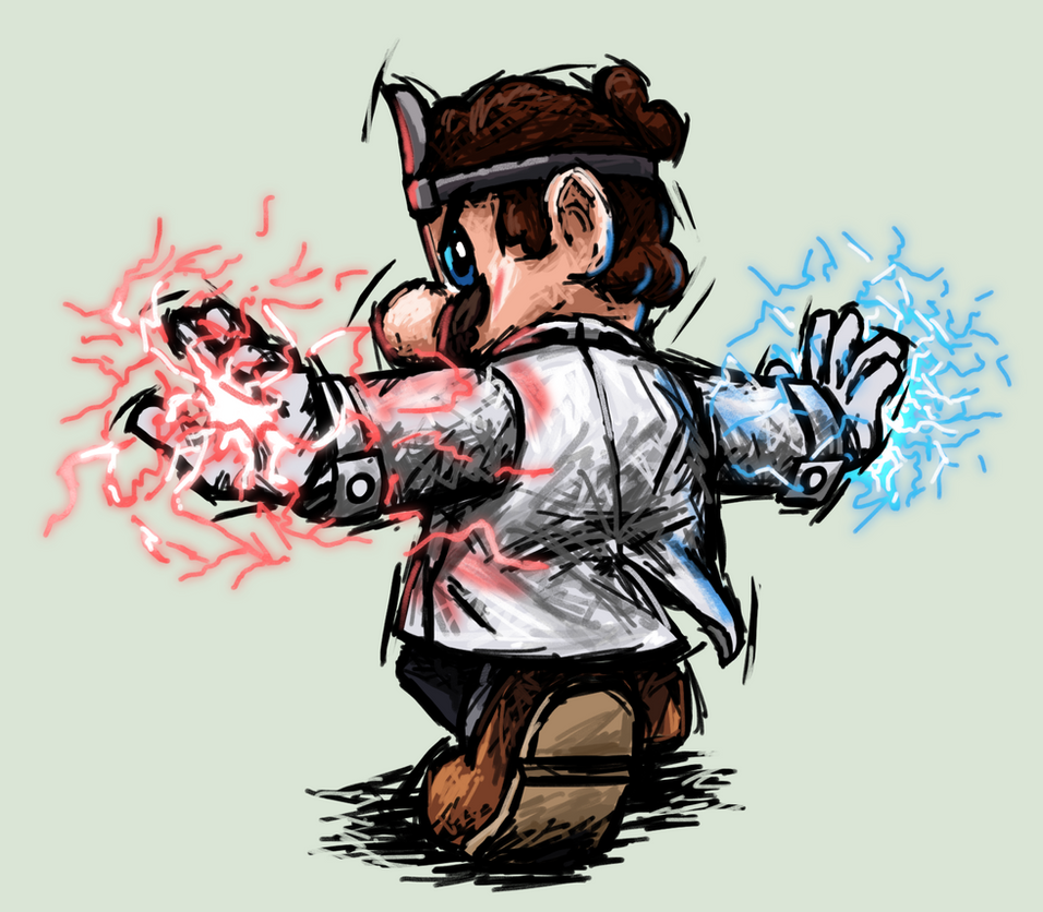 Commission: Dr. Mario by Tails1000