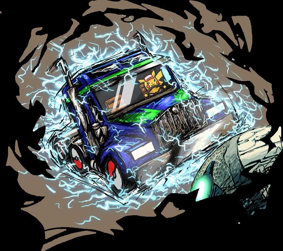 Commission: Rocket League by Tails1000