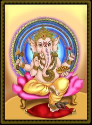 Lord Ganesha by alinecarneiro