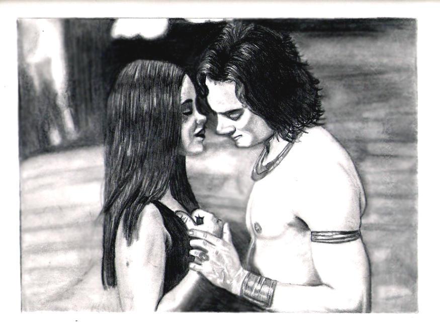 Lestat y Akasha en la Reina de los condenados Lestat_and_Jessie_finished_by_AvengedDemise13363