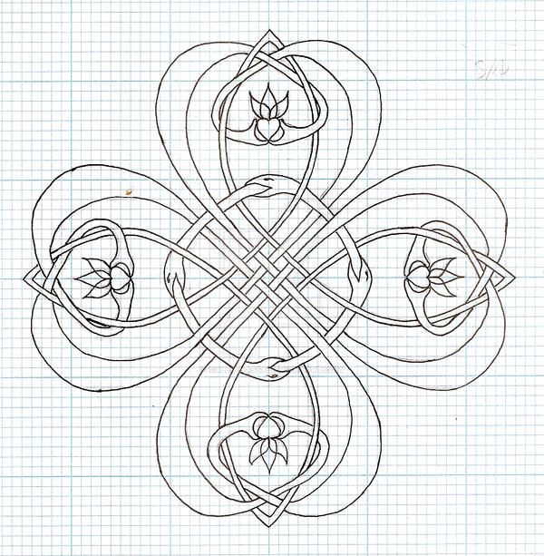 Clover Outline by callianassa on DeviantArt