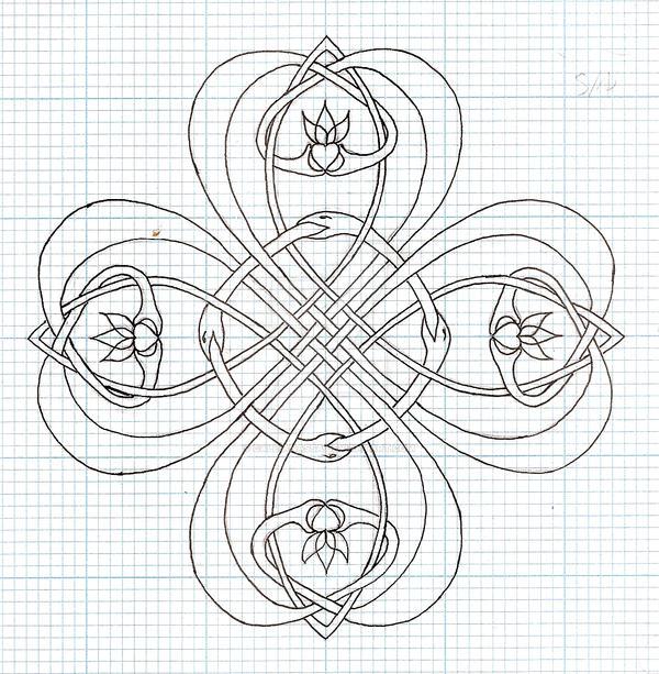 Clover Outline by callianassa on DeviantArt