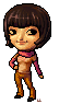 Maplestory style chibi me by lanternlovers