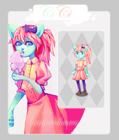 Pixel Adoptable - Sold - by lanternlovers