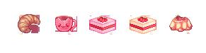 Pixel Food - Batch 1 by lanternlovers