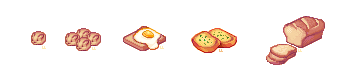 Pixel Food - Batch 2 by lanternlovers