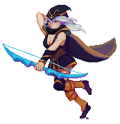 LoL: Ashe by lanternlovers