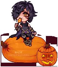 Pumpkin YCH - Mazir by lanternlovers