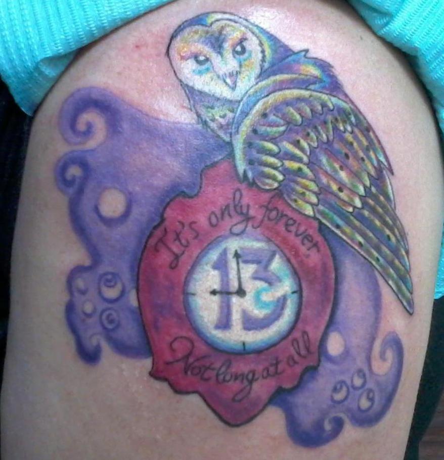 Labyrinth Owl Tattoo by Notwendigkeit on DeviantArt Labyrinth Owl Tattoo