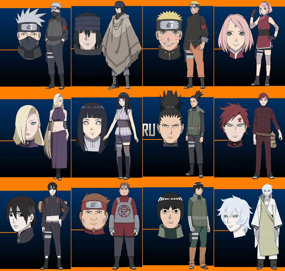 Character Design Naruto The Last : The last naruto movie characters by alextheviper on deviantart
