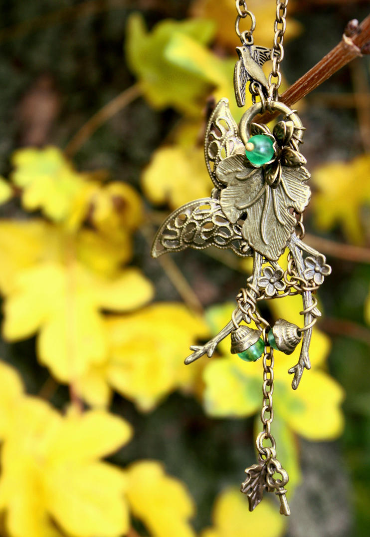 Nature Necklace by SecondHandGefuehl