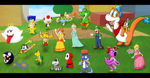 Mario-less Land