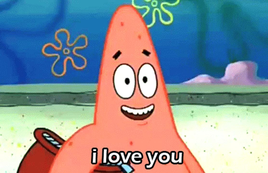 patrick i love you gif