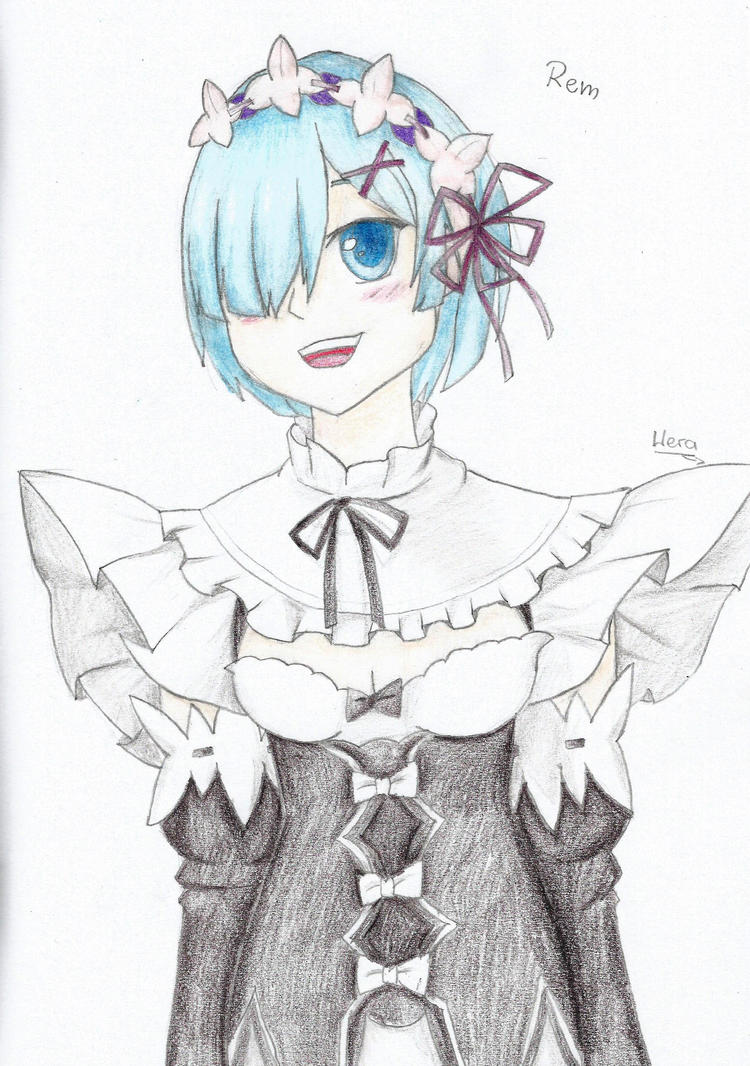 Rem (1st contest prize) :) by WeraHatake
