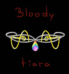 Bloody tiara (new cover)