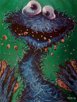 Cookie Monster by soljwf98