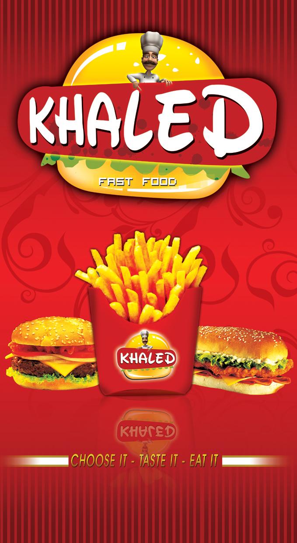 Khaled Restaurant Poster by Printing-Academy on DeviantArt