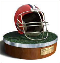 Cleveland Browns - helmet