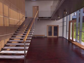 Architectural study - rendered in Keyshot 8