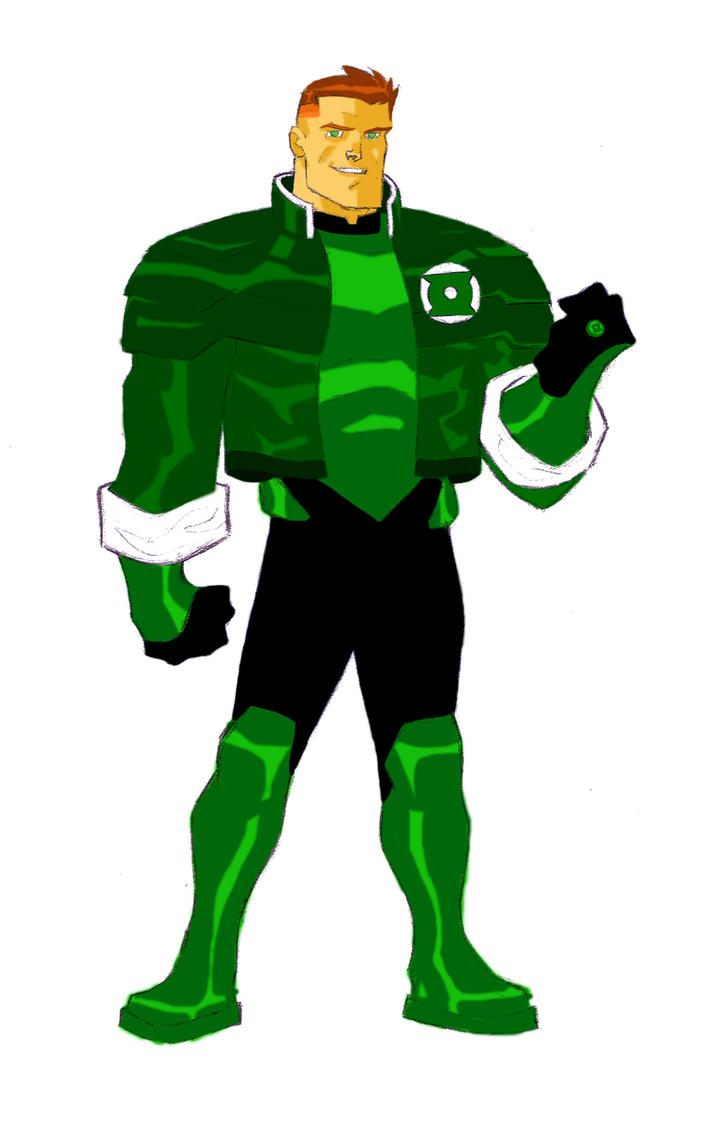 guy gardner animated by CHUBETO
