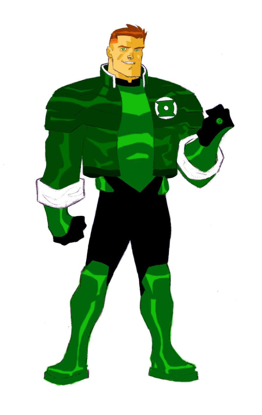guy gardner animated by CHUBETO