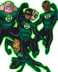 green lantern movie animated
