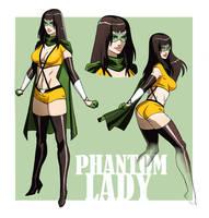 PHANTOM LADY ANIMATED by CHUBETO