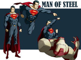 MAN OF STEEL ANIMATED by CHUBETO