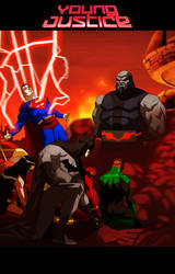 YOUNG JUSTICE APOCALYPSE NOW by CHUBETO