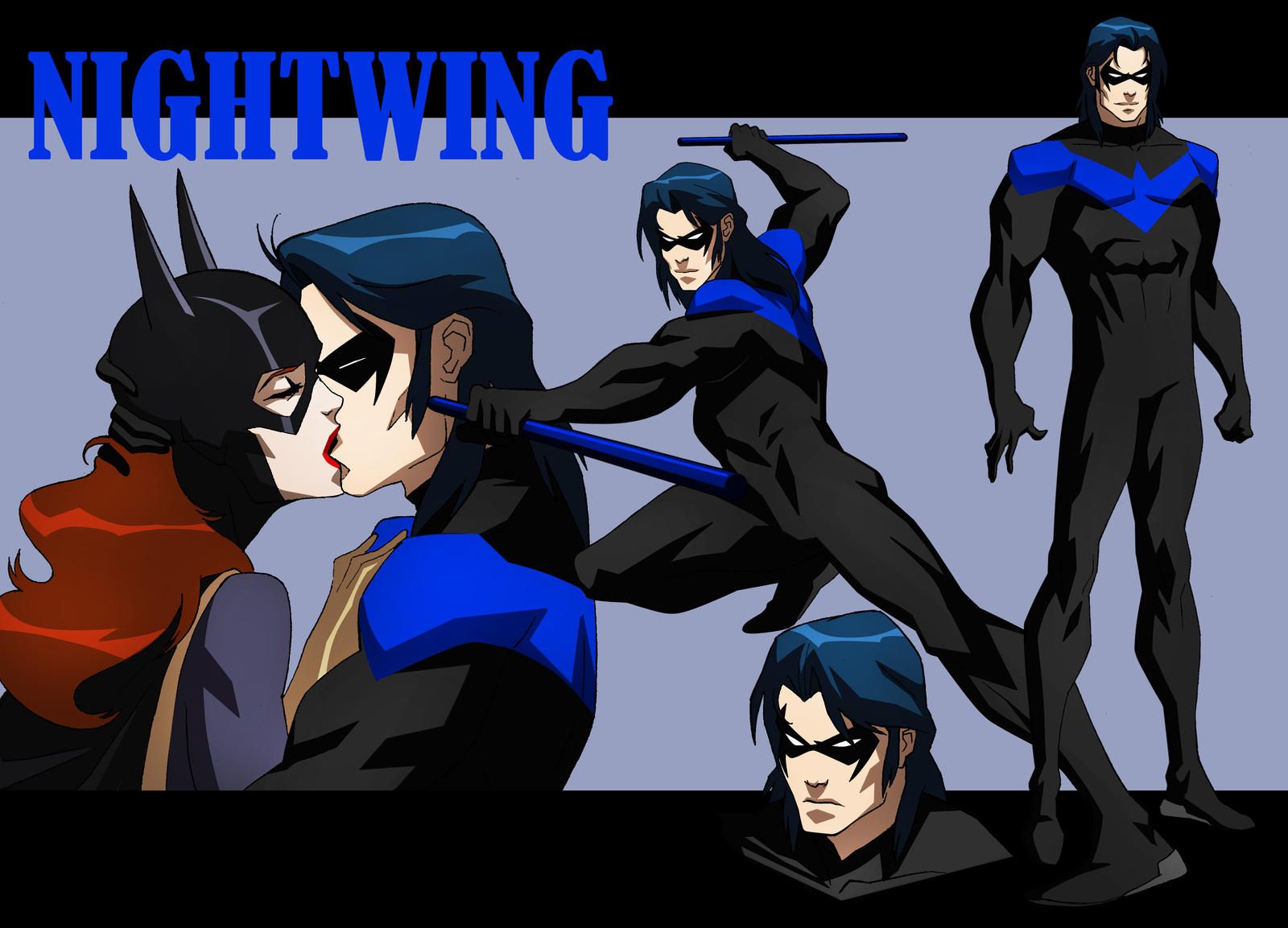 Nightwing animated by chubeto on deviantart - Pictures of nightwing from young justice ...