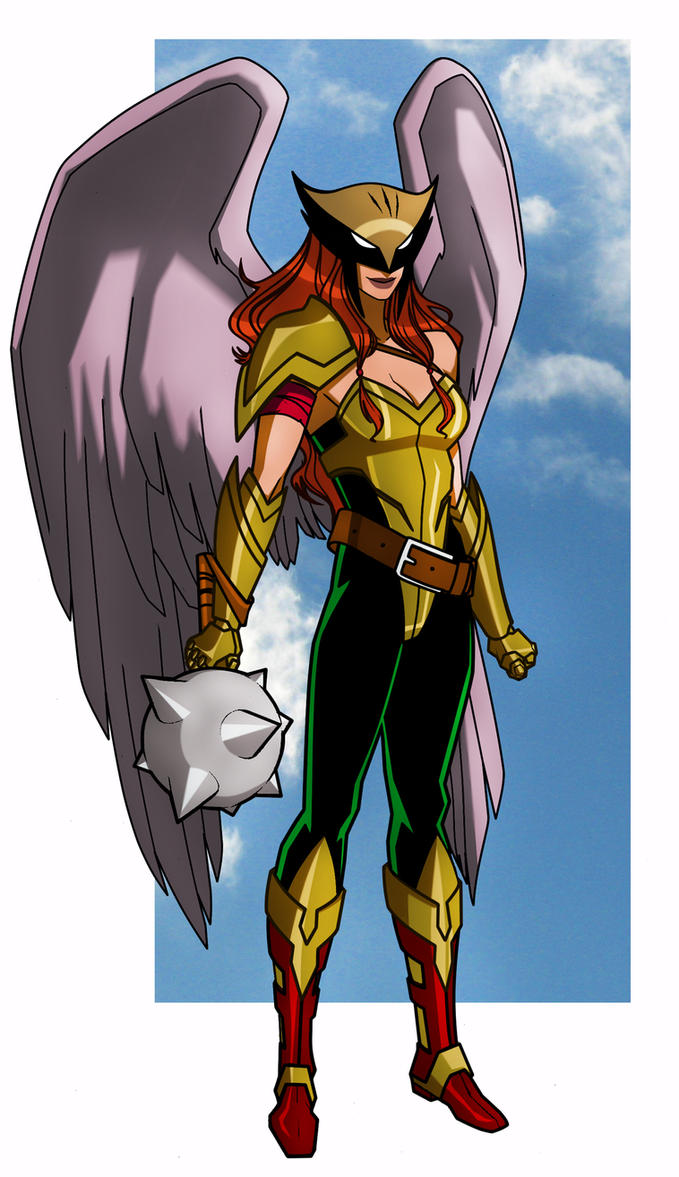 Hawkgirl by CHUBETO on DeviantArt