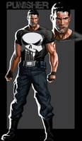 The Punisher by CHUBETO