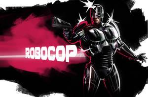RoboCop sketch by CHUBETO
