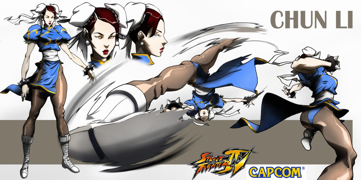 Chun-Li  Animated by CHUBETO