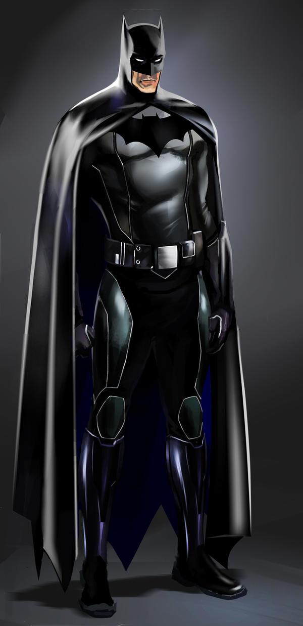 Batman Concept Study by CHUBETO