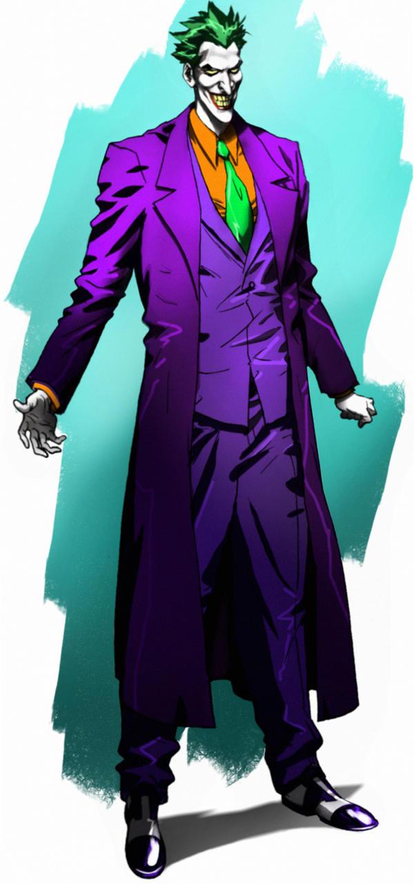 Joker animated  sketch by CHUBETO